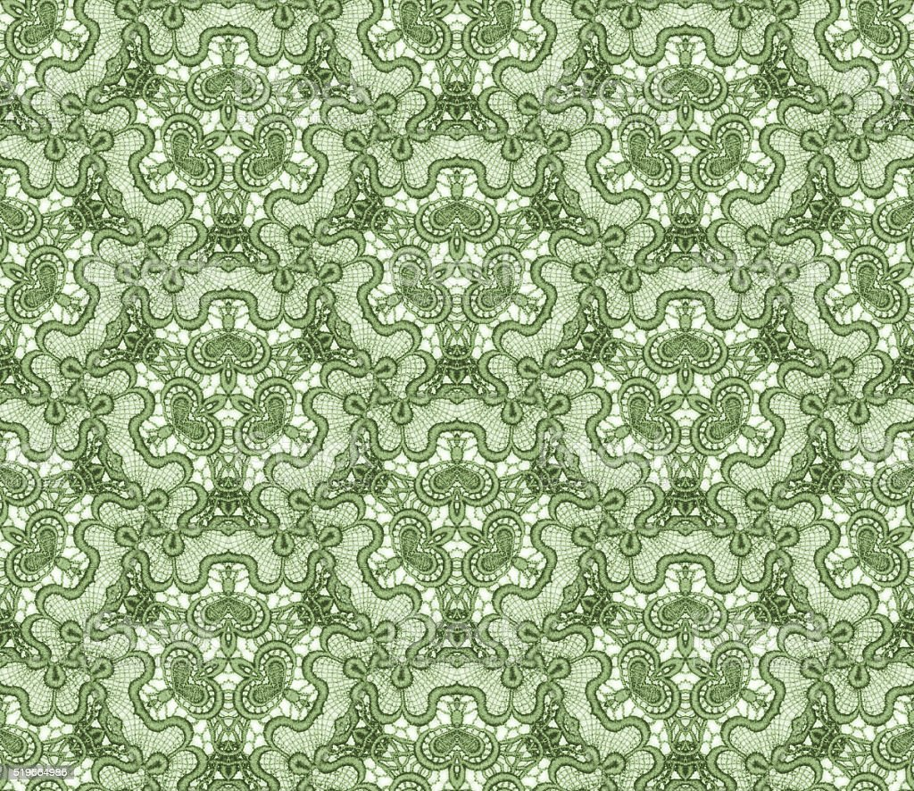 Seamlessly repeating lace pattern stock photo
