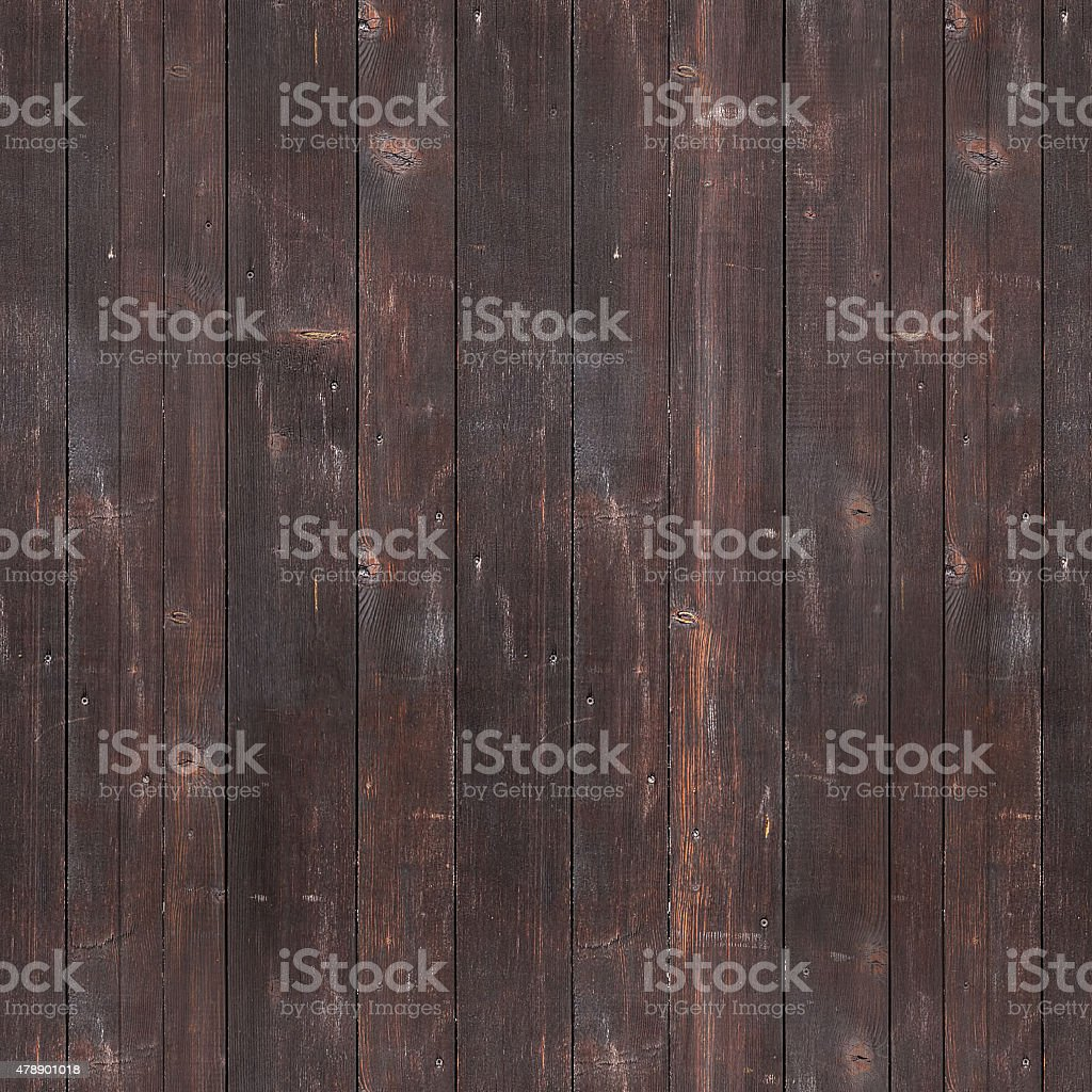 Seamlessly tileable texture of a wooden wall stock photo