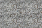 Seamlessly tiling cobbled road texture