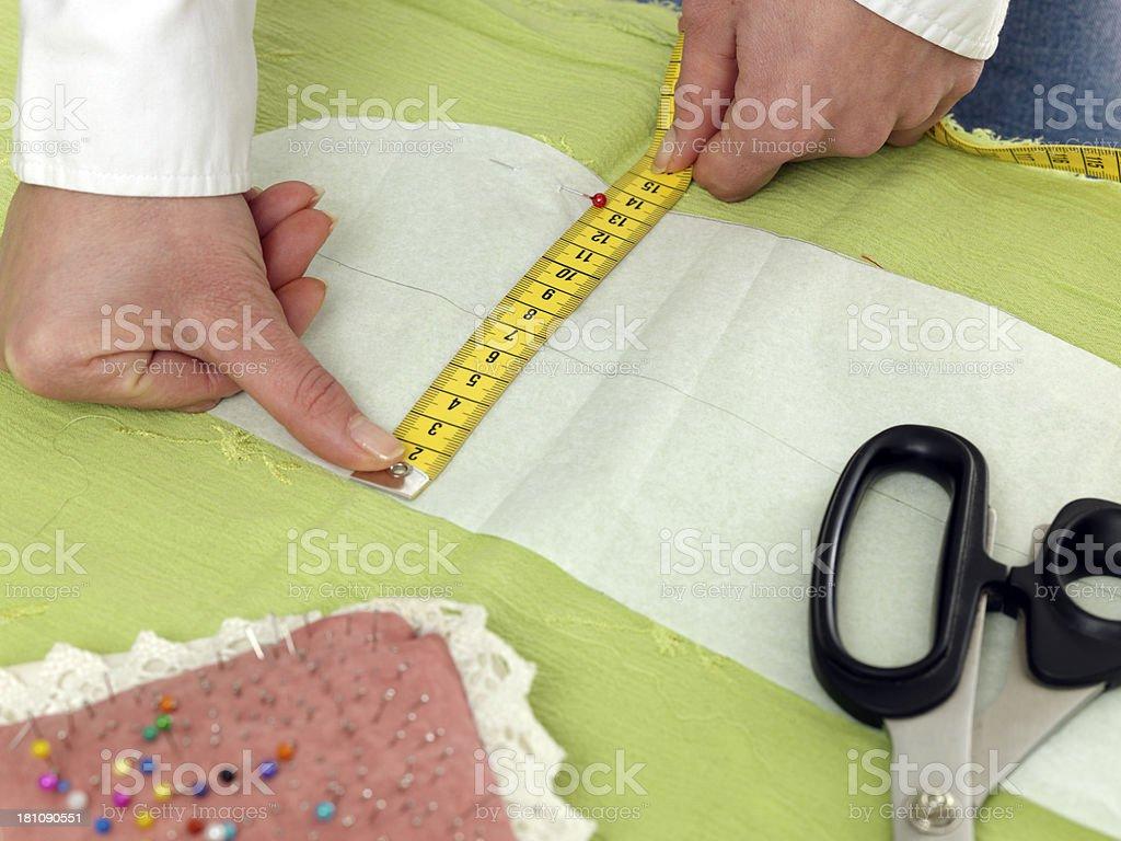 seamstress royalty-free stock photo