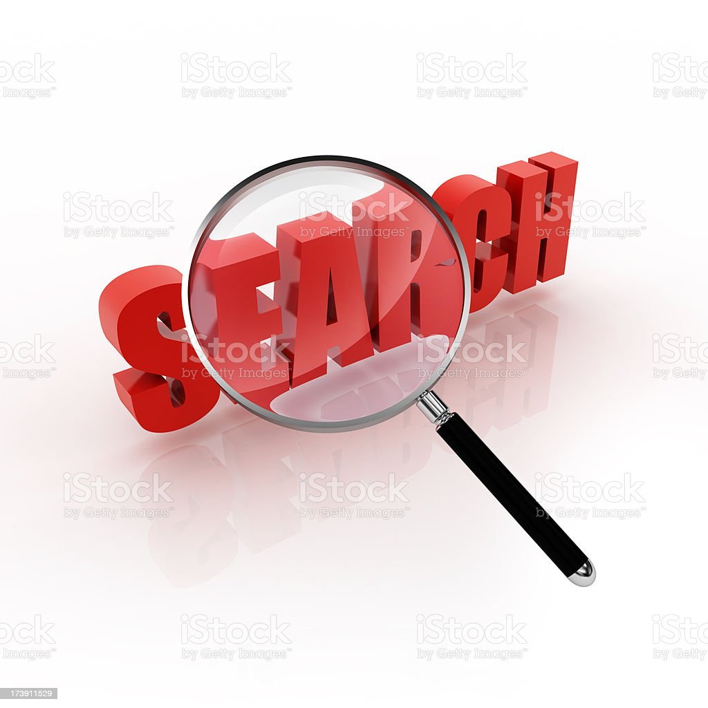search and find stock photo