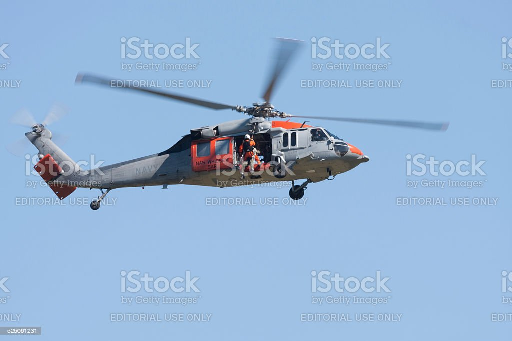 Search and Rescue stock photo