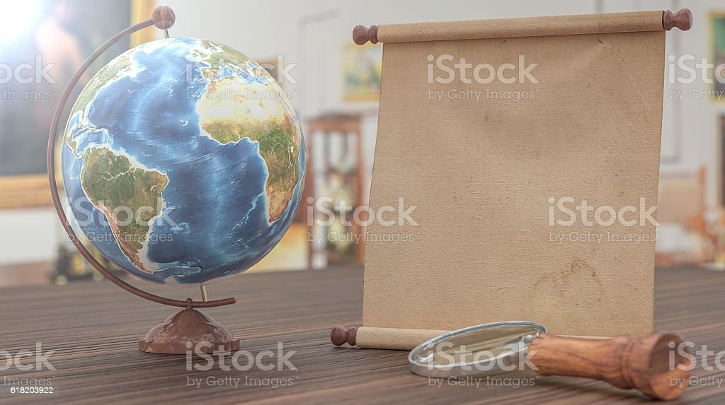 Search and Travel stock photo