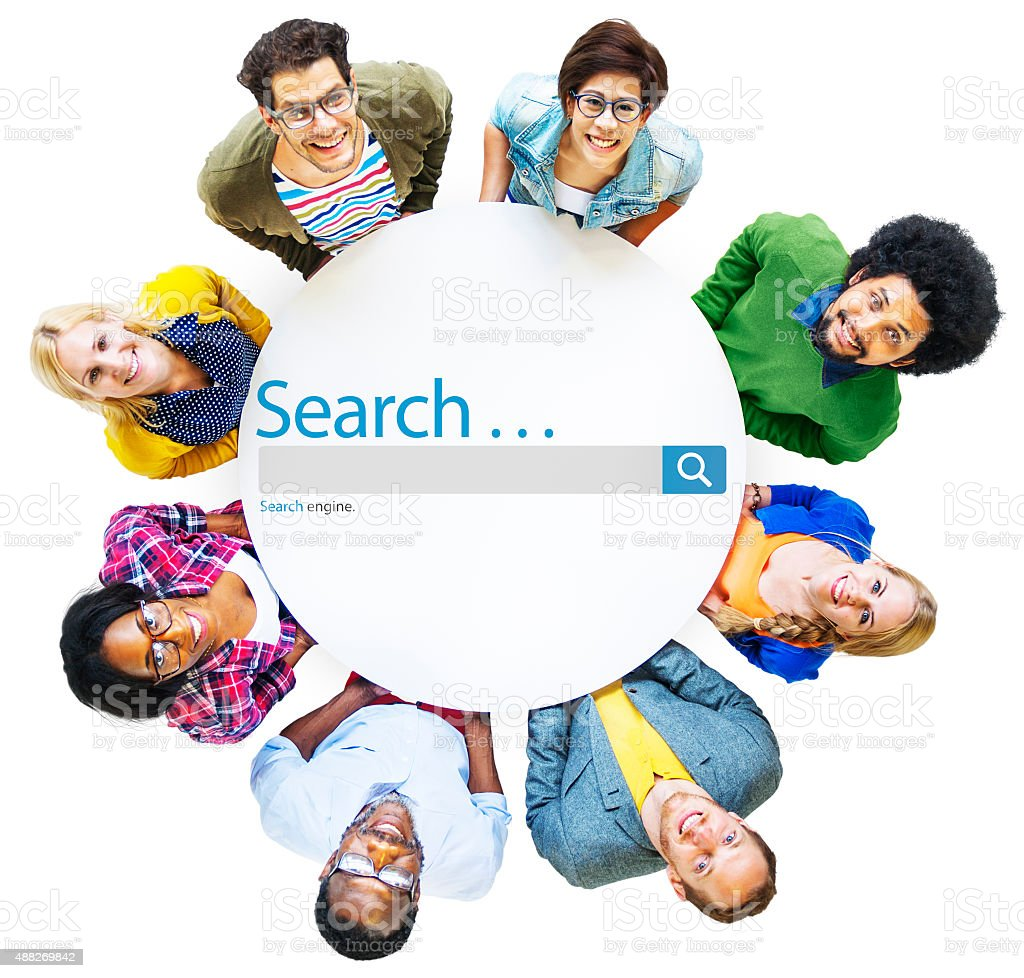 Search Browse Find Internet Search Engine Concept stock photo