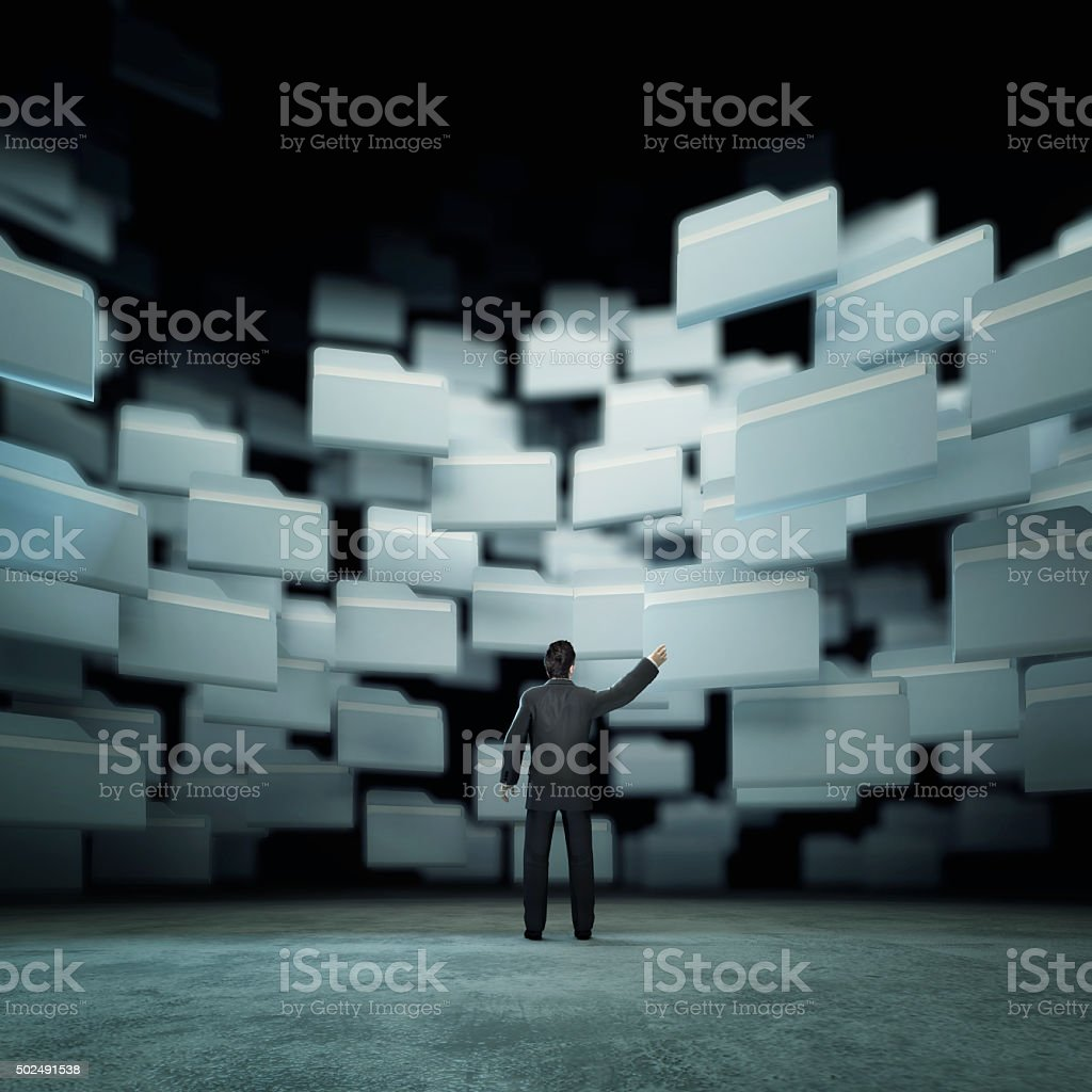 Search concept. stock photo