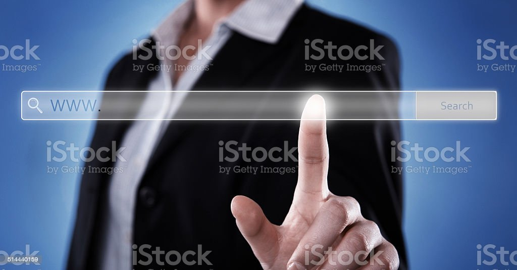 Search engine idea (click for more) stock photo