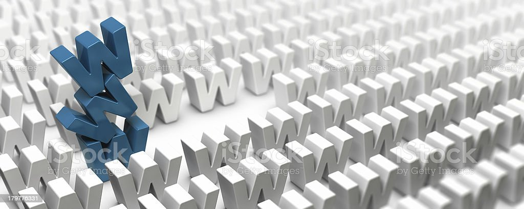 Search Engine Marketing Concept. Banner royalty-free stock photo