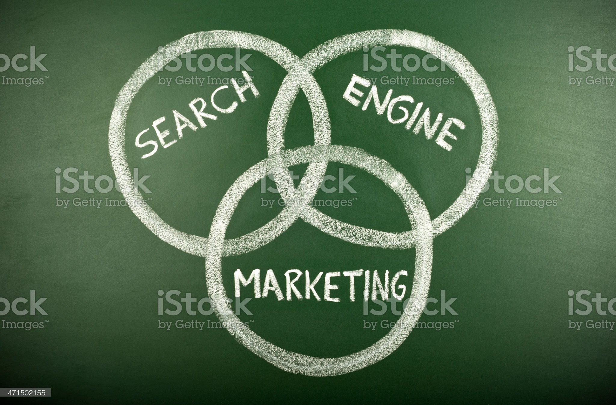 search engine marketing royalty-free stock photo