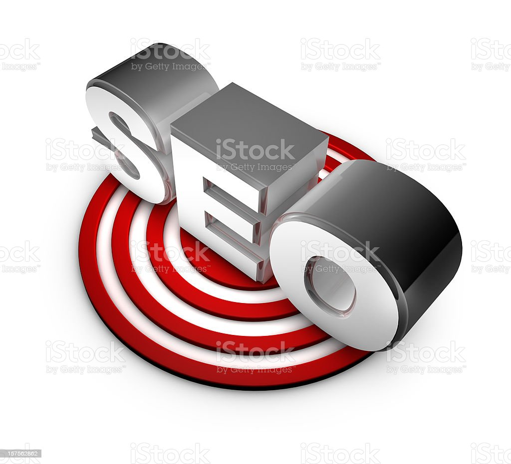 SEO - Search engine optimization concept royalty-free stock photo