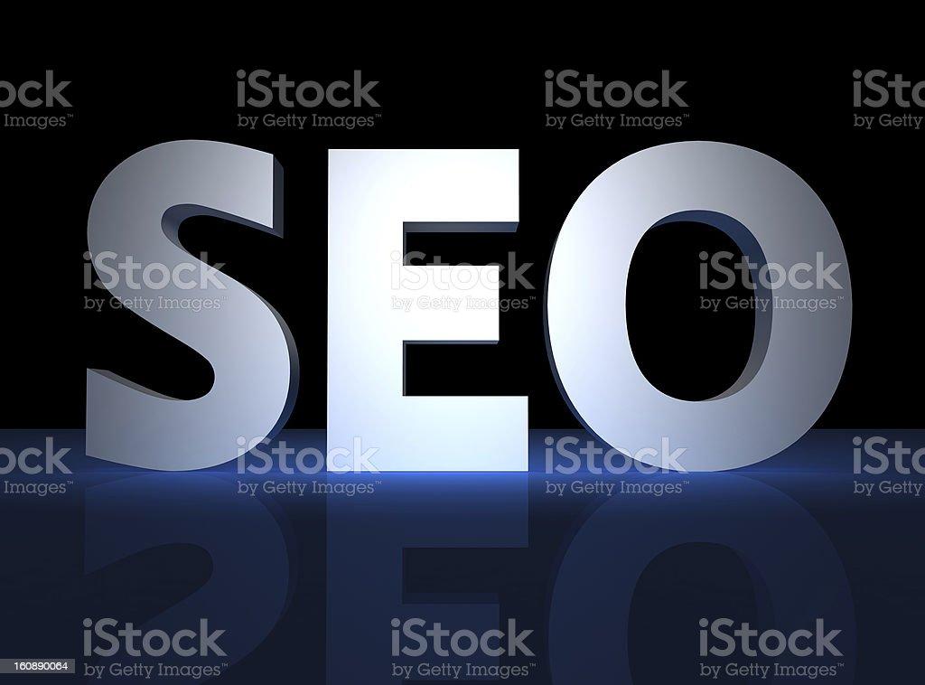 SEO - Search Engine Optimization royalty-free stock photo