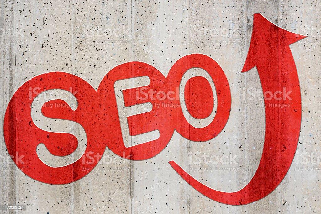 Search engine optimization – SEO stock photo
