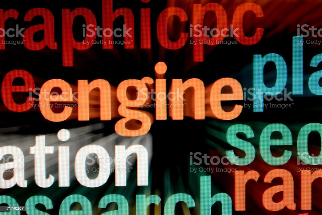 Search engine royalty-free stock photo