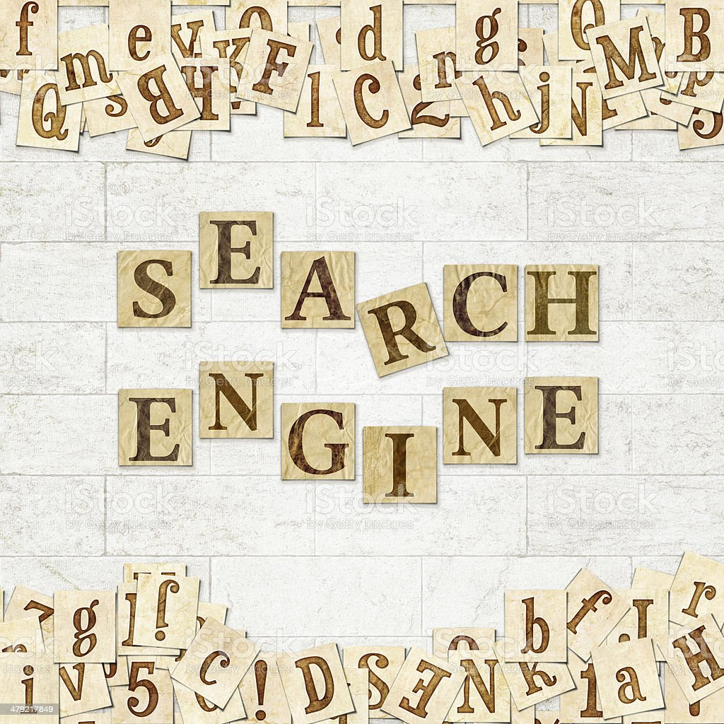 search engine stock photo