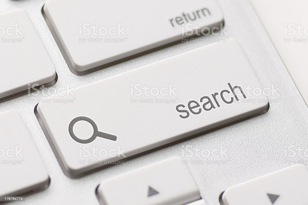 search enter button key royalty-free stock photo