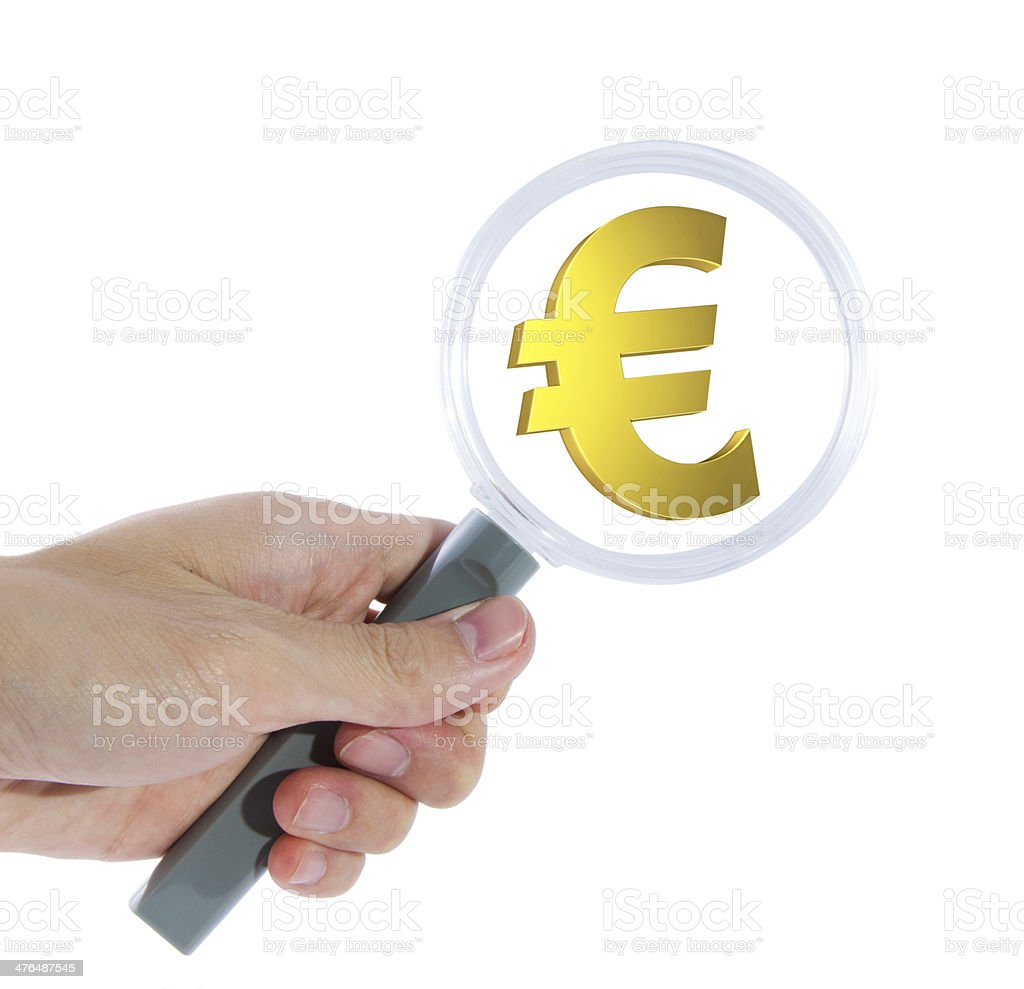 Search for euro stock photo