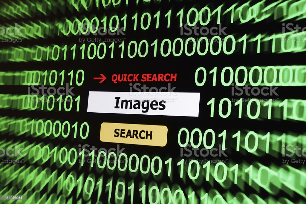 Search for images royalty-free stock photo