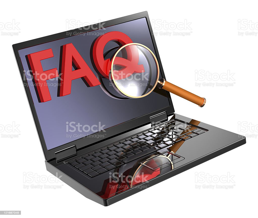 Search for information in the Internet. stock photo