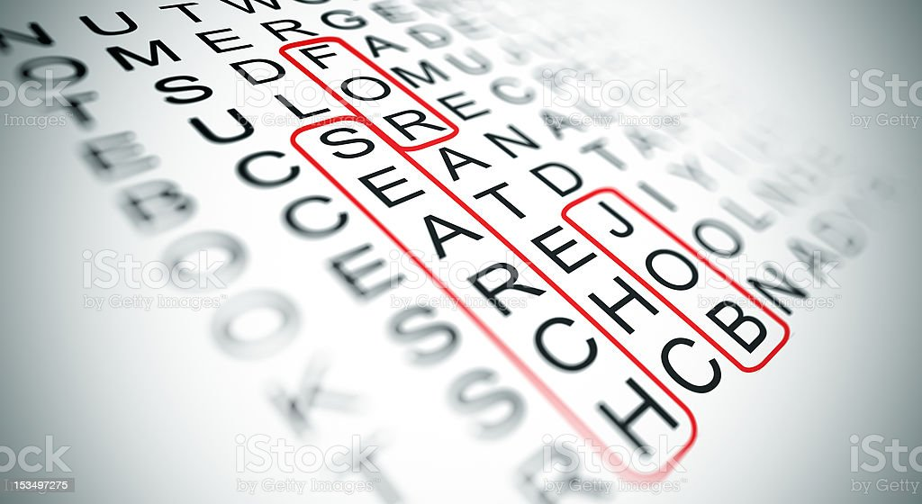 search for job stock photo