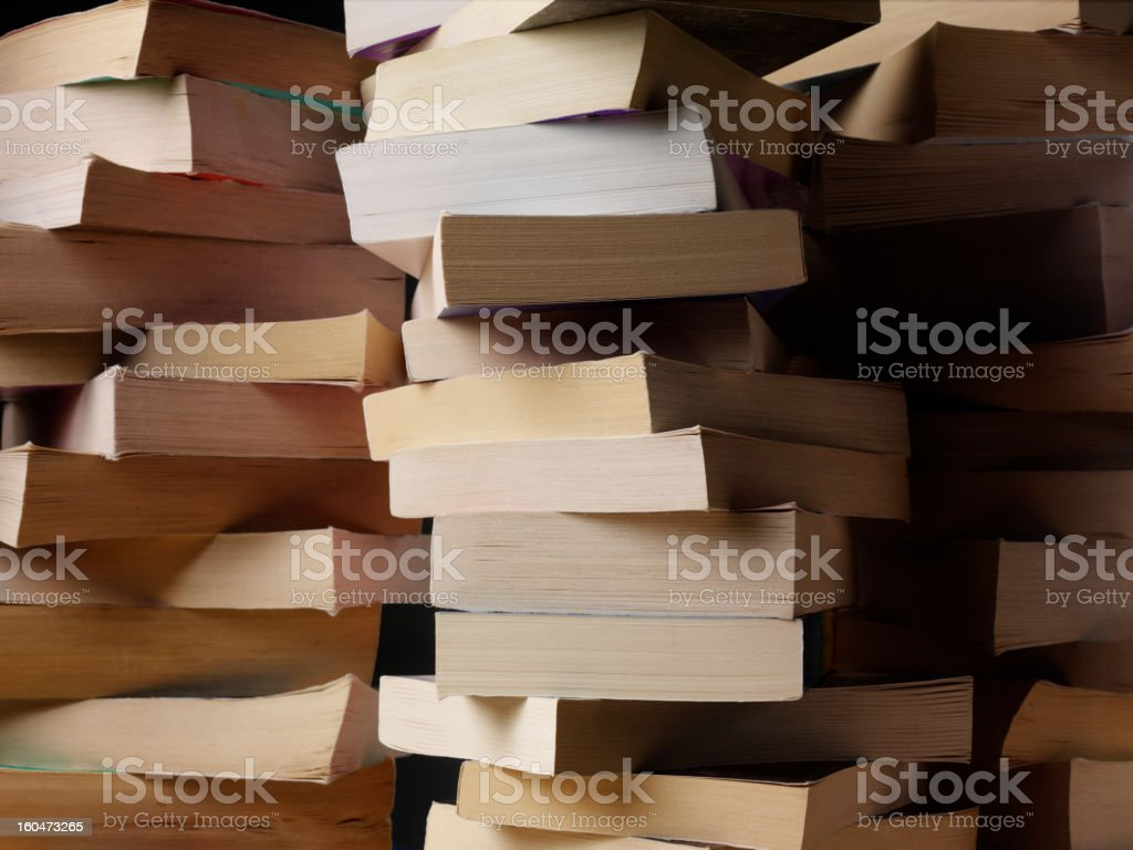 Search for Knowledge with Books stock photo