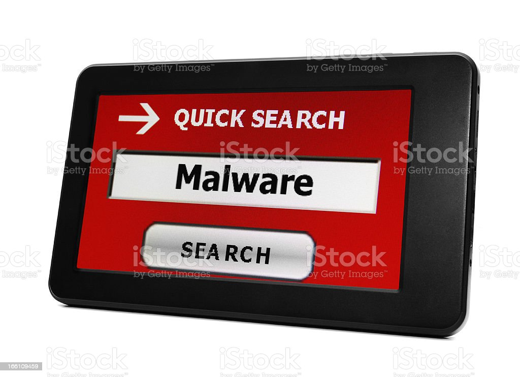 Search for malware royalty-free stock photo