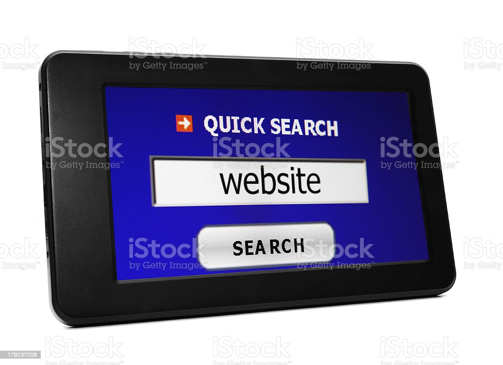Search for website royalty-free stock photo