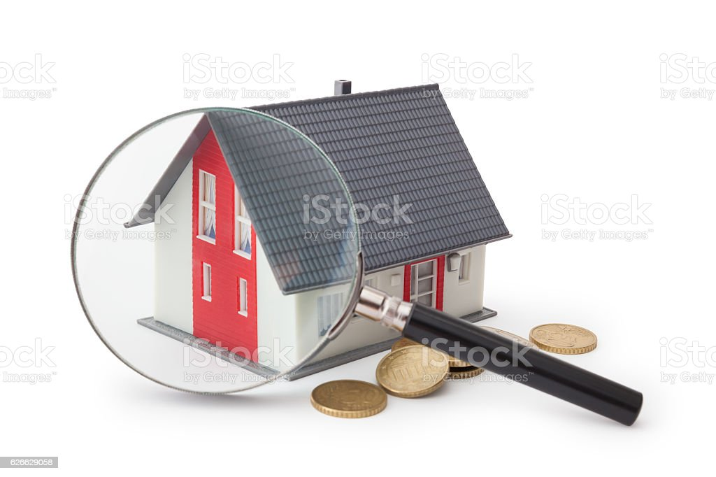 Search House stock photo
