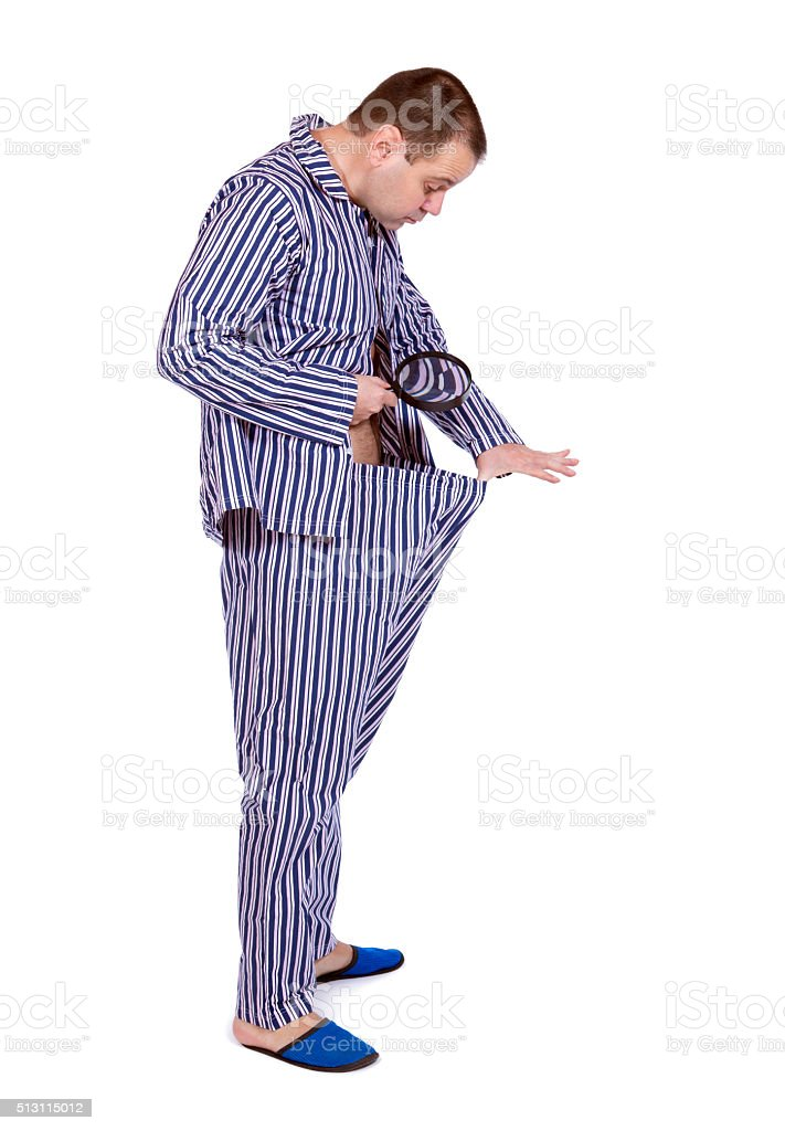 Search in pants stock photo