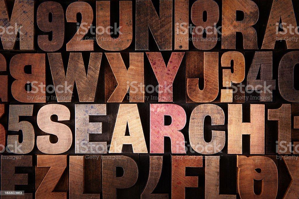 Search - Letterpress letters stock photo