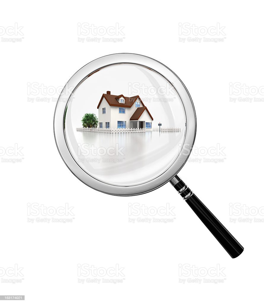 search nice house royalty-free stock photo