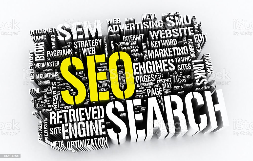 Search on Internet royalty-free stock photo