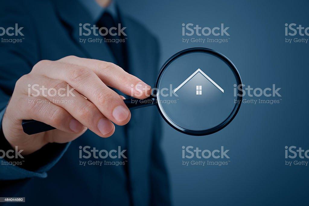 Search real estate stock photo
