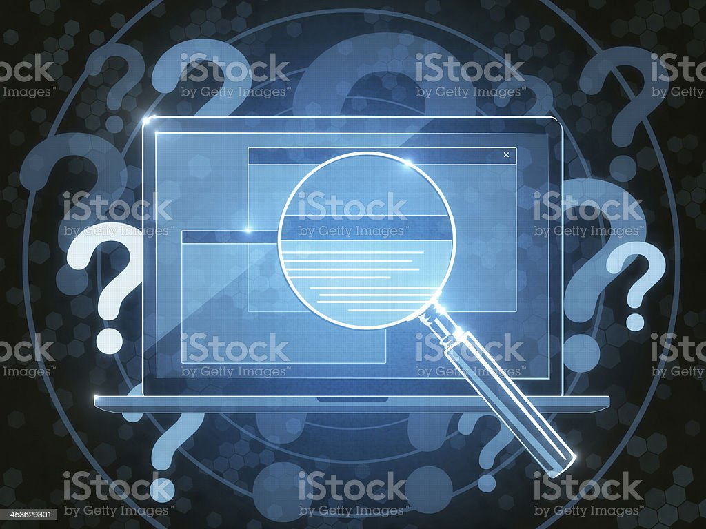 Search System royalty-free stock photo