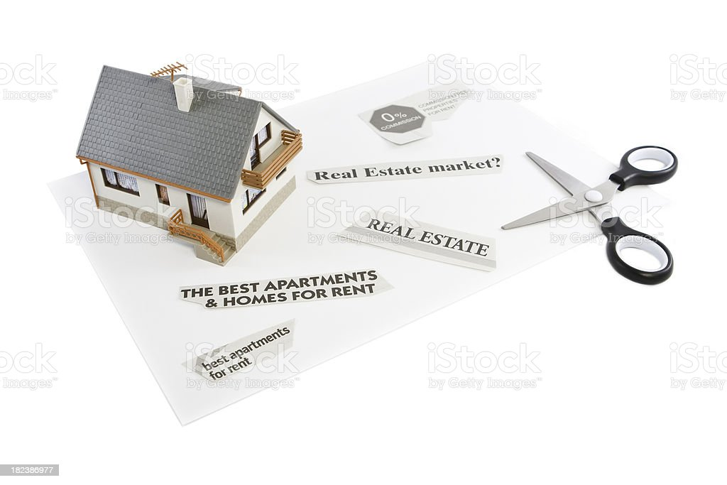 Searching for a real estate royalty-free stock photo