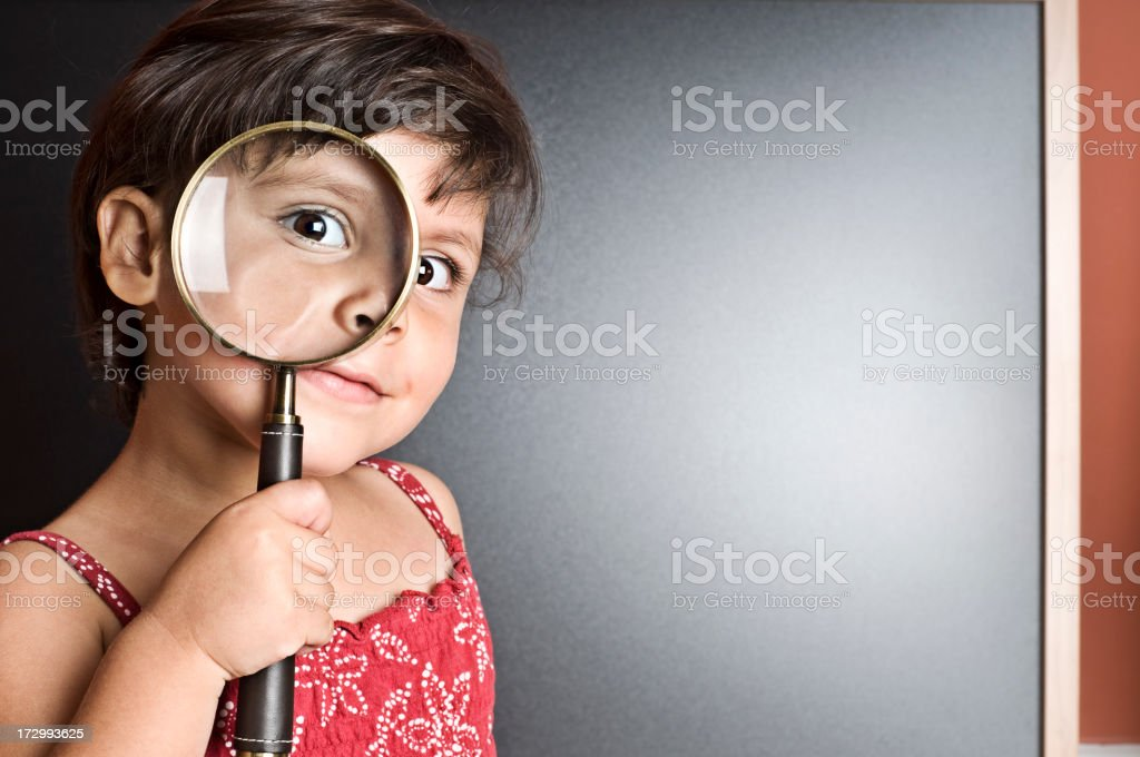 searching for answers royalty-free stock photo
