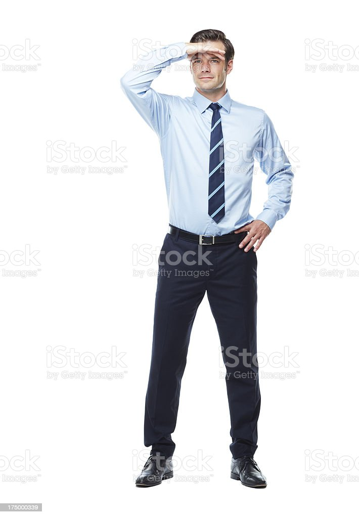 Searching for business success stock photo