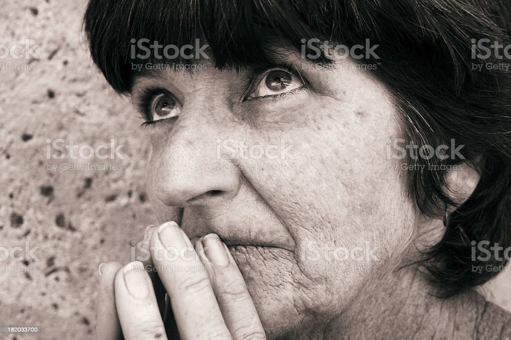 Searching for Guidance royalty-free stock photo