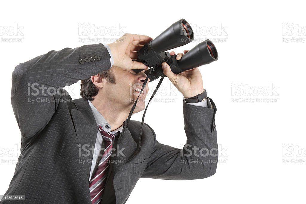 Searching for job royalty-free stock photo