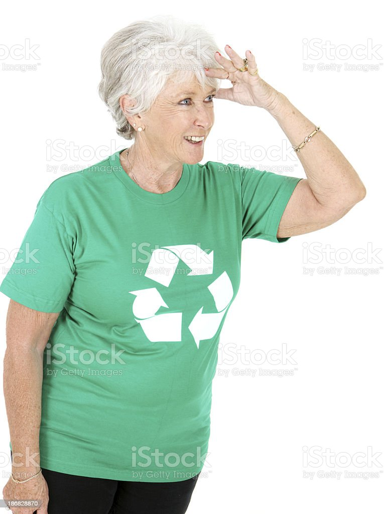 Searching for More ways to Recycle stock photo