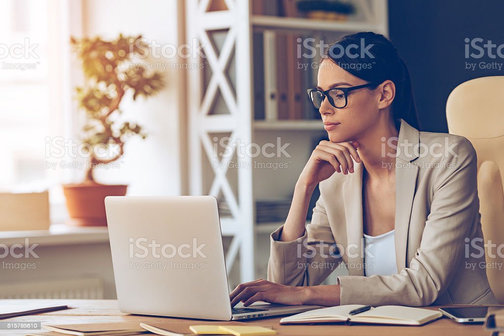 Searching for new solution. stock photo
