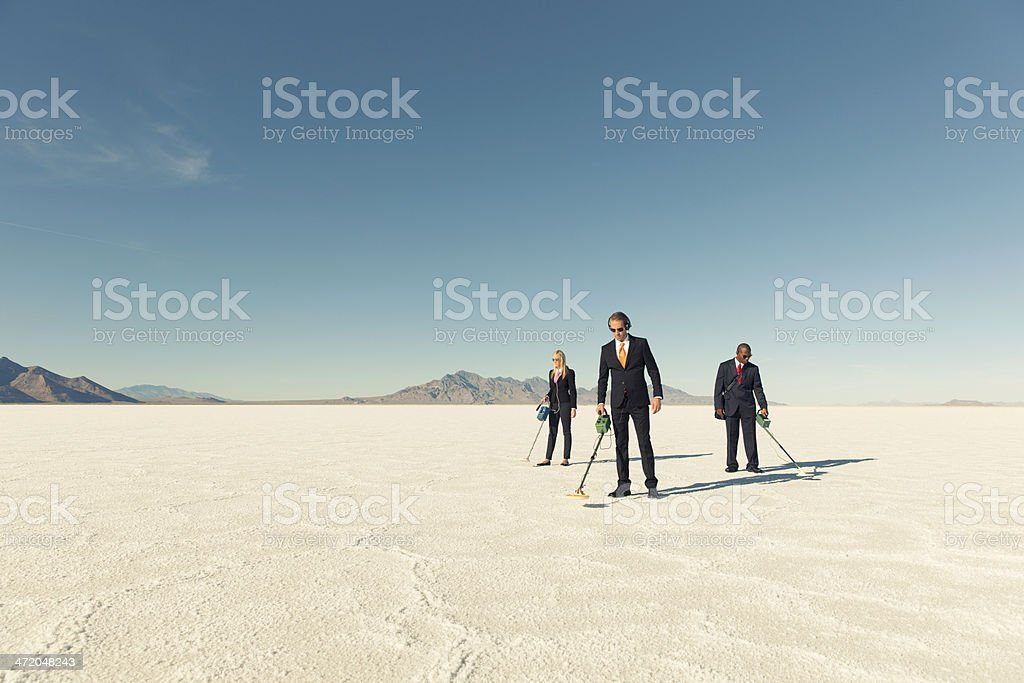 Searching for Profits stock photo