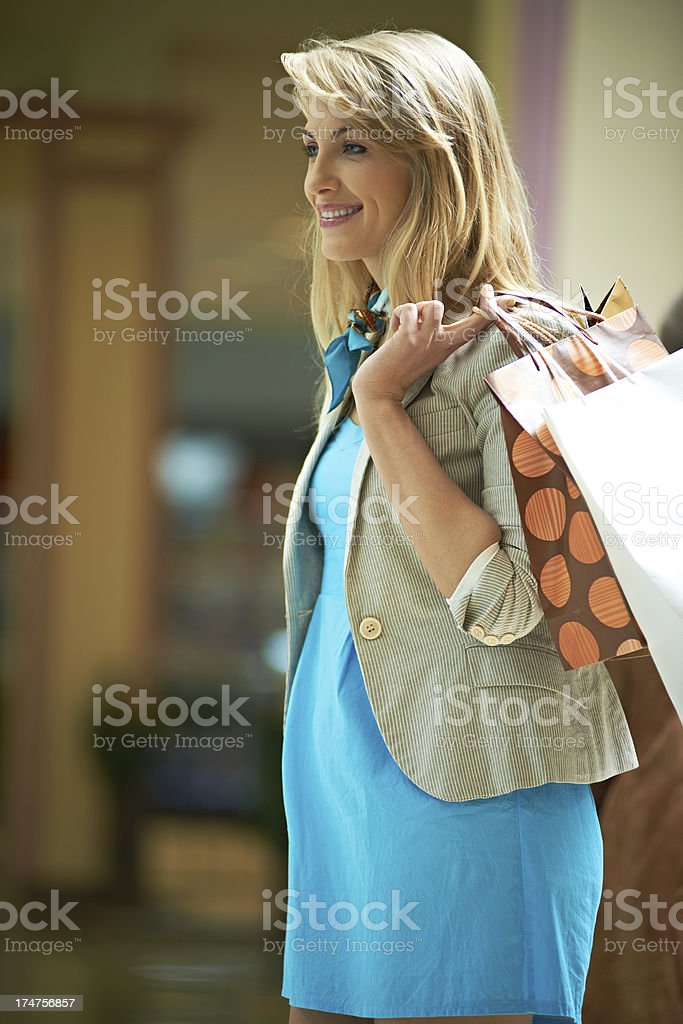Searching for sale royalty-free stock photo