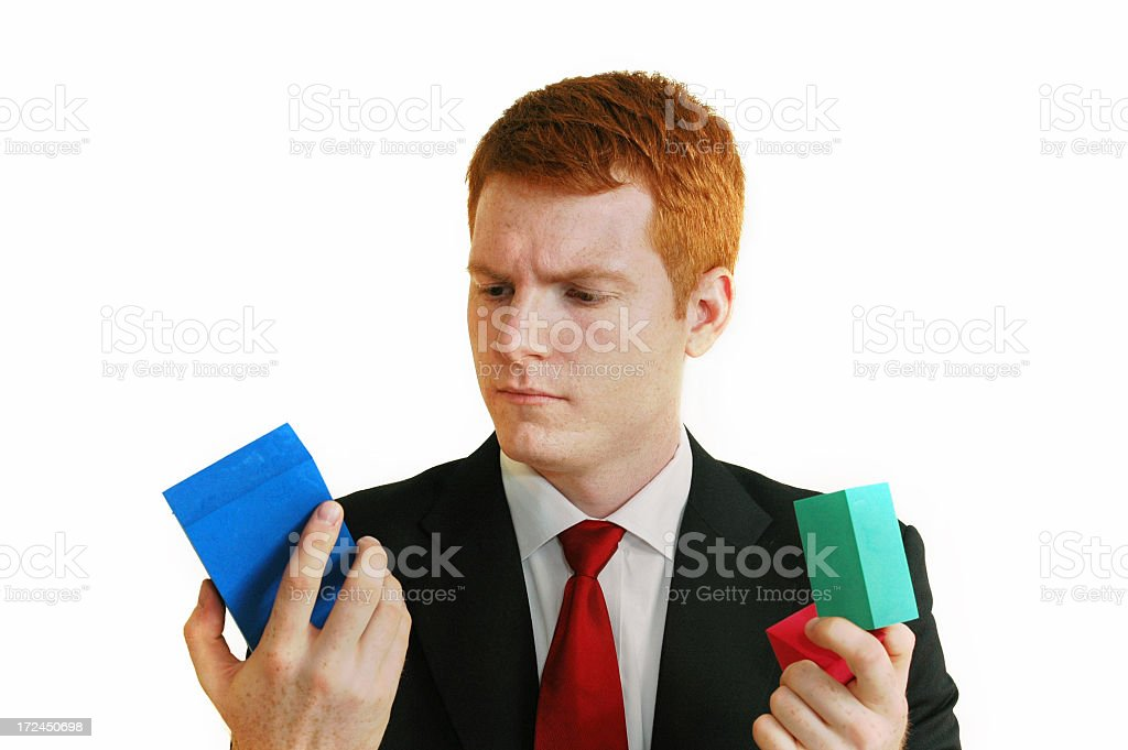 Searching For Solutions royalty-free stock photo