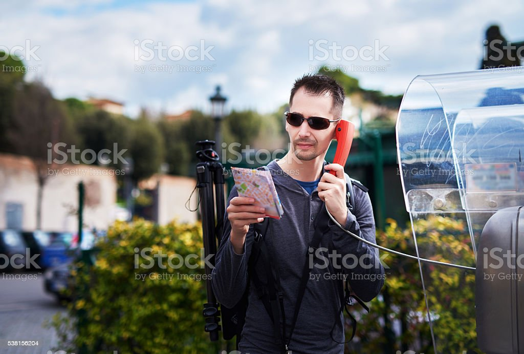 searching for some information stock photo