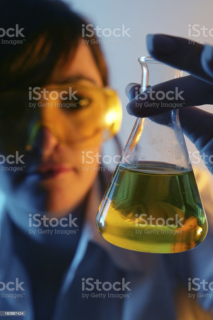 Searching for the Answers royalty-free stock photo