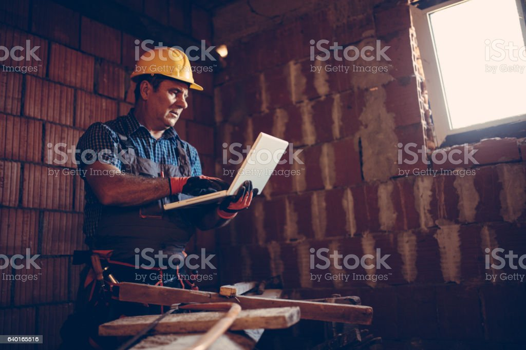Searching new plan stock photo