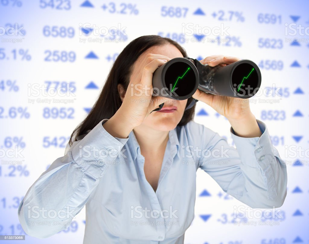 searching the best  financial investment stock photo