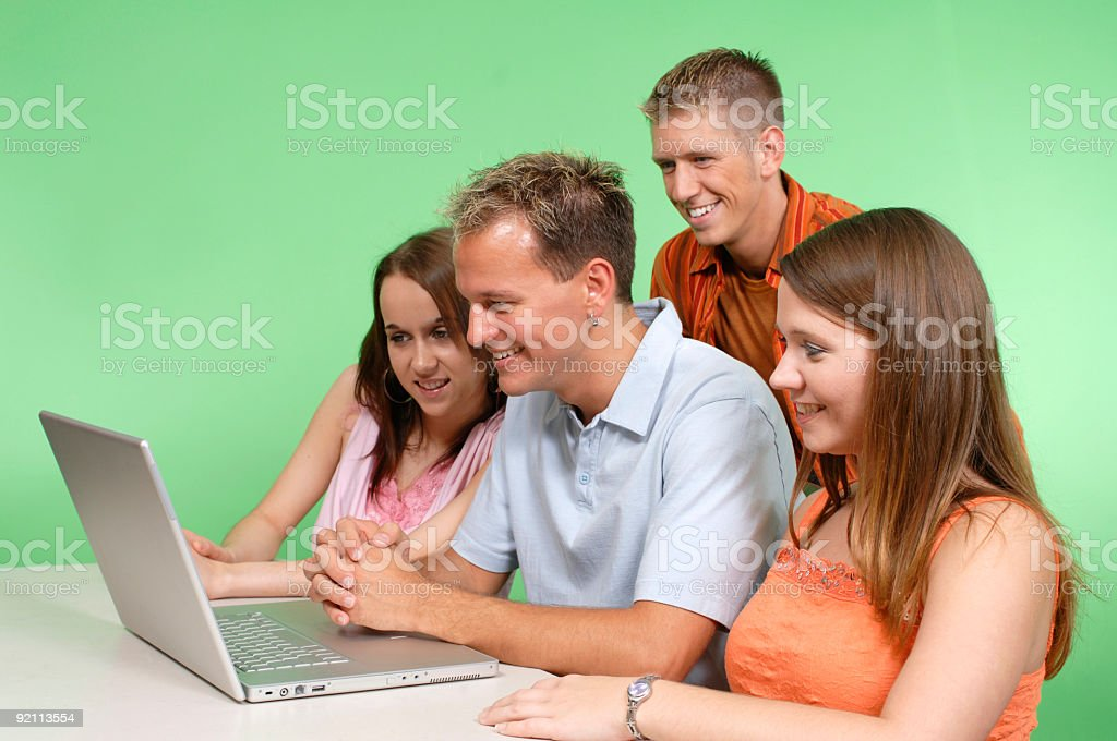 Searching Web royalty-free stock photo