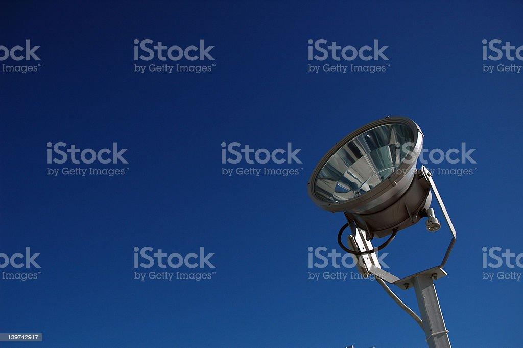 Searchlight royalty-free stock photo