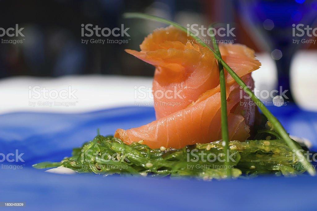 Seared Salmon royalty-free stock photo