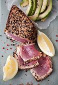 Seared Tuna Fillet